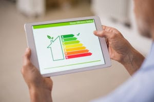 Lasndlord with A rating on EPC energy performance certificate