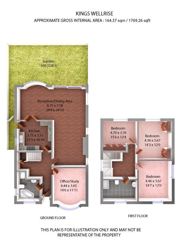 3D property floorplan