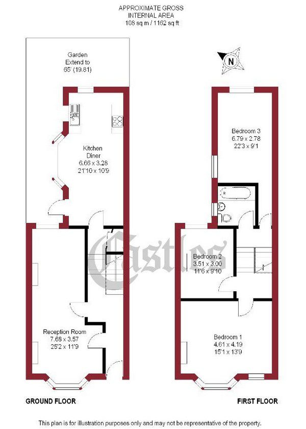 Bespoke property floorplan