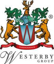 westerby group crest - coat of arms