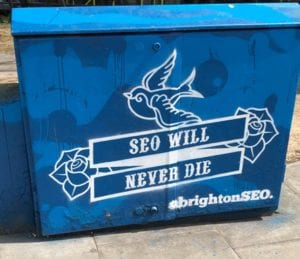 SEO will never die artwork 2018