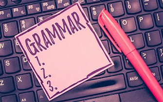 How important are grammar rules?