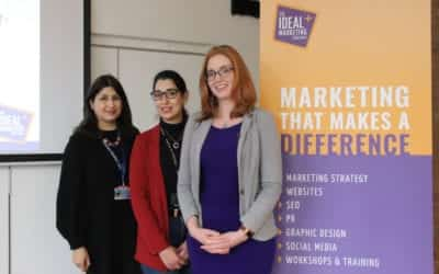 Leicester Business Festival hosts successful collaboration between the Ideal Marketing Company and De Montfort University