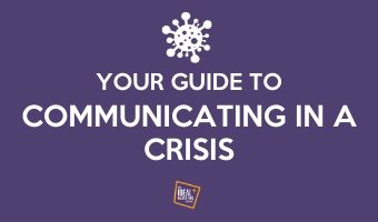 Guide to communicating in a crisis