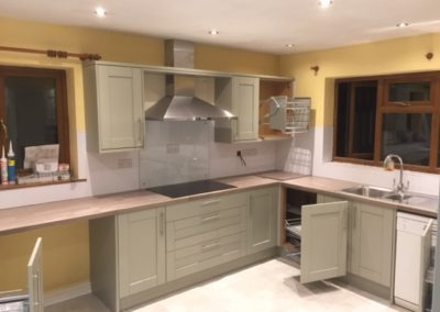 Kitchen renovation by Loughborough builders