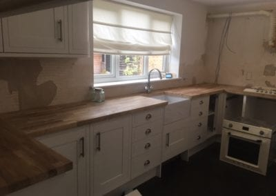 Oak Work Tops