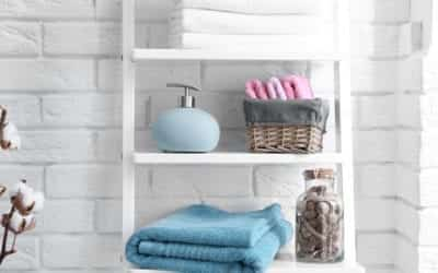 5 storage hacks for your small bathroom
