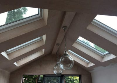 rear house extension skylights