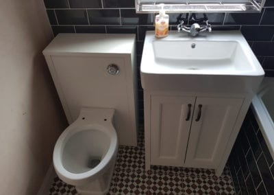 new toilet and sink bathroom fittings