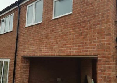 House extension in Shepshed