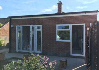 Ground floor rear extension in Loughborough