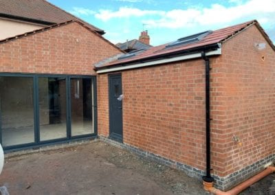 Kitchen and utility extension Loughborough