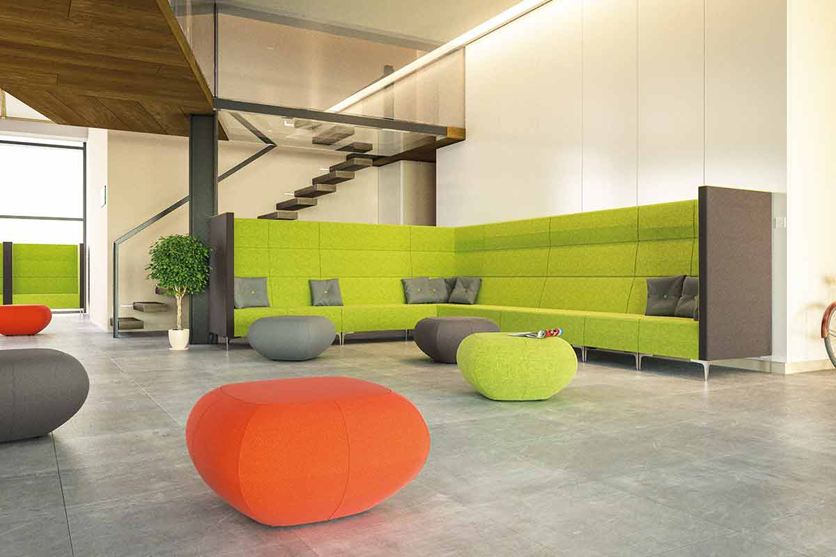Reception furniture from Leicester supplier