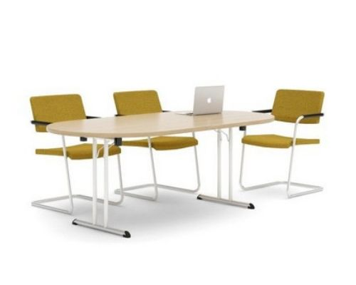 Table with a folding frame in office