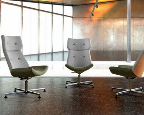 Echo seating range - low and high back chairs